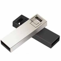 Pendrive Metal logotipo