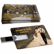 Pendrive Tarjeta USB Credito Bodas