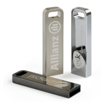 Pendrive Personalizado 3.0 Metal Slim