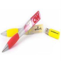 Memoria USB Boligrafo Plastic Deluxe