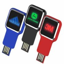 Memoria USB Led Retractil