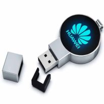 Pendrive Personalizado Metal LED USB