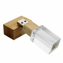 Distribuidores Fabricantes Pendrive Cristal Madera USB