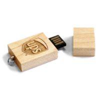 Memoria USB Mini Square Wood