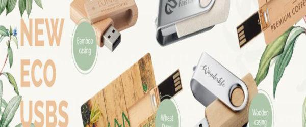 Pendrives de Madera y Reciclados Ecológicos