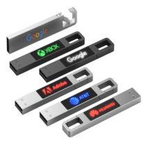 Pendrive Personalizado Metal Hook Led La Casa del USB