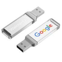 USB Personalizado Metacrilato Rectangulo